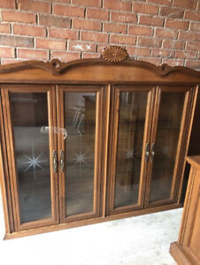 two piece china oak hatch. call or text @647 338 5127