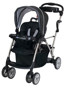 Graco sit and stand stroller with Extra seat.