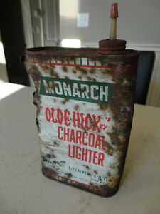 "Vintage Monarch ""Olde Hickry"" Charcoal Lighter Kitchener, ON"