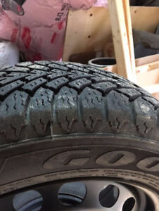 Goodyear snow tires 205 60 r16