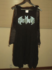 Batgirl Tank Dress w/ Cape & Batgirl Accessories - Women's Small