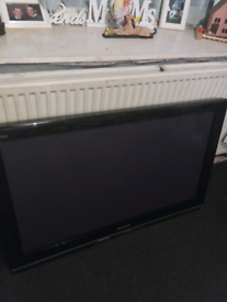 42 itch panasonic tv sorry no remote or stand as was wall mounted