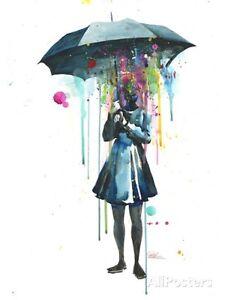 Rainy Art Print By Lora Zombie - 14x20