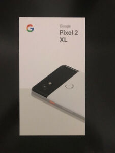 NEW SEALED Box Pixel 2 XL 64gb UNLOCKED (ret $1289+tax) FIRMAVA