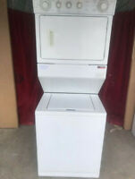 27' whirlpool stackable washer and dryer for sale