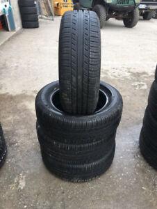 Four Michelin Premier All Season Tires - 205/55 R16.