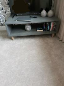 Brand New Modern Grey TV Stand 110cm x 60cm