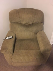 2 recliner lift chairs available - great for assisting seniors!