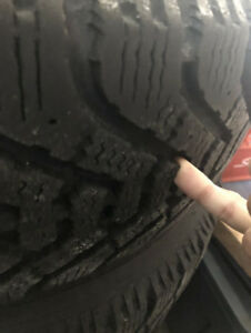 """15"""" Goodyear Nortic Winter tires  205/70r15 corolla sienna camry"""