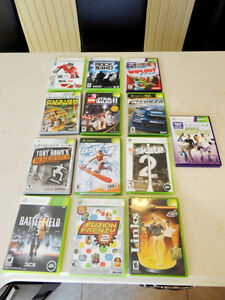 I have 11 XBox 360 Games for Sale -Excellent Condition $10.50ea