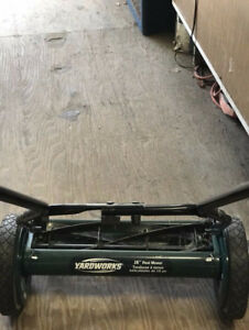 "Yarkworks 16"" Reel Lawnmower"