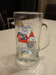 2 Vintage Glass Steins and A Petro Canada Vintage Whiskey Glass Kitchener / Waterloo Kitchener Area image 2