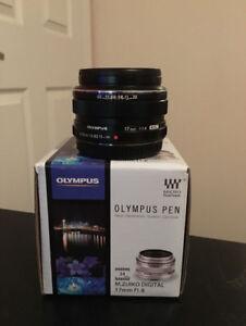 Olympus M.Zuiko Digital 17mm f/1.8 Premium Lens