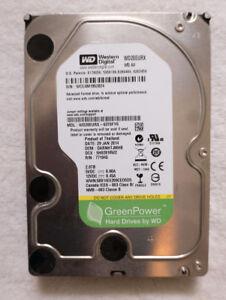 WD 2TB IntelliPower Hard Drive + SATA Cable