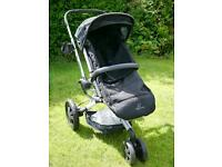 Quinny Buzz Push Chair + Quinny Foldable Carrycot + Accessories