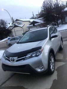 2015 Toyota RAV4 Limited AWD SUV With LOW KM