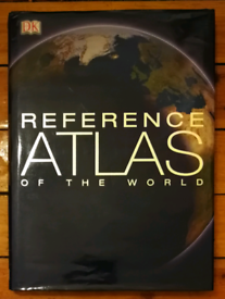 REFERENCE ATLAS OF THE WORLD, BEAUTIFULLY ILLUSTRATED, EXCELLENT