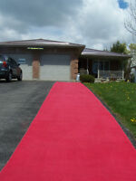 For Sale Red Carpet