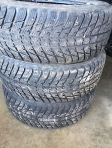 215/55R18 NOKIAN WR G3 all weather tires...3 pieces only