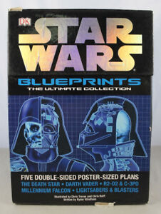 STAR WARS BLUEPRINTS THE ULTIMATE COLLECTION BOOK MINT COND
