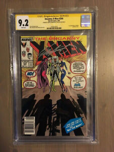 X-Men #244 signed by Stan Lee and Chris Claremont! $300 obo