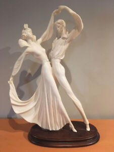 "Amiloare Santini Bolero Dancers 18 1/2 "" high"