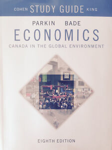 Parkin, Bade Economics Global 9th Edition w/Study Guide