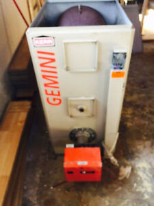 Full sized Forced Air Furnace with Burner (Gemini)