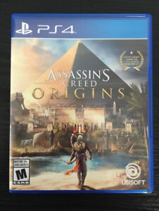 PS4 - Assassin's creed origins , Middle-earth: Shadow of War
