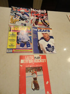 Selling 5 Vintage 1970's to 1991 Hockey Magazines $6 to $11/each