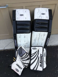 Reduced Price - Mckenney Goalie Pads 34  (brians, reebok, ccm)