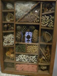 The Farmer's Life Vintage Shadow Box