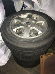 Rims and Tires 195/65r15