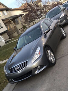 2011 Infiniti G37x Sedan with 2 Sets of Rims