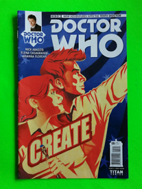Dr Who Titan Comic - Tenth Doctor December 2014