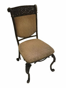 4 Cast Ornate Dining Chairs