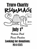 Looking for Donations for Truro Charity Rummage Sale