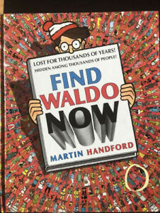 Find Waldo Now - Book by Martin Handford $6 10/10 cond