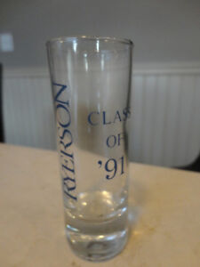 Vintage Ryerson University Shot Glass From 80's - Perfect Shape Kitchener / Waterloo Kitchener Area image 4