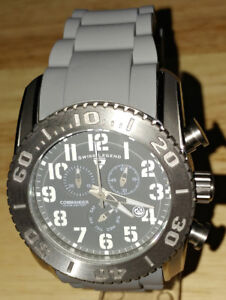 Swiss Legend Men's 11876-TI-014 Commander Titanium Chronograph