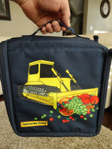 Boys Bulldozer Constructive Eating transforming Lunch Tote - NEW Kitchener / Waterloo Kitchener Area image 3