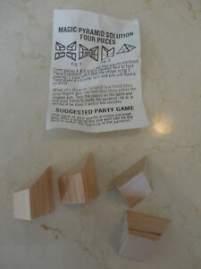 Selling Brand New Solid Wood Pyramid Mystery Puzzles - I have 24 Kitchener / Waterloo Kitchener Area image 3
