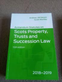 Avizandum Scots Property, Trusts and Succession Law statute book