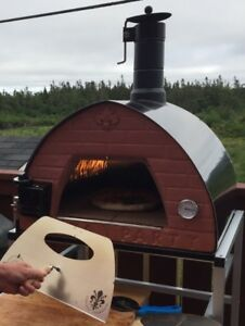 Wood or Gas Fired Pizza Oven BBQ