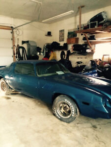 1979-80 Z28 Camaro PARTS CARS ONLY