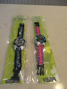 Selling Two Parasail Rope Band Watches - New  $4.50 each