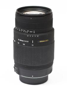 Sigma DG 70-300mm 1.4-5.6 (Nikon Camera Lens) (Barely used)