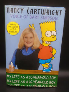 """THE SIMPSONS BART SIMPSON """"MY LIFE AS A 10 YEAR OLD BOY"""" BOOK"""