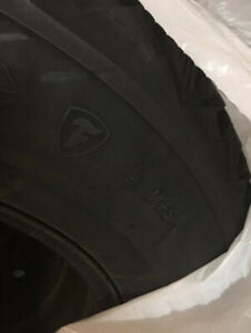 firestone studded winter tires plus rims from honda odyssey