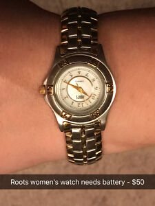 Roots, Roxy, Fossil women's watches